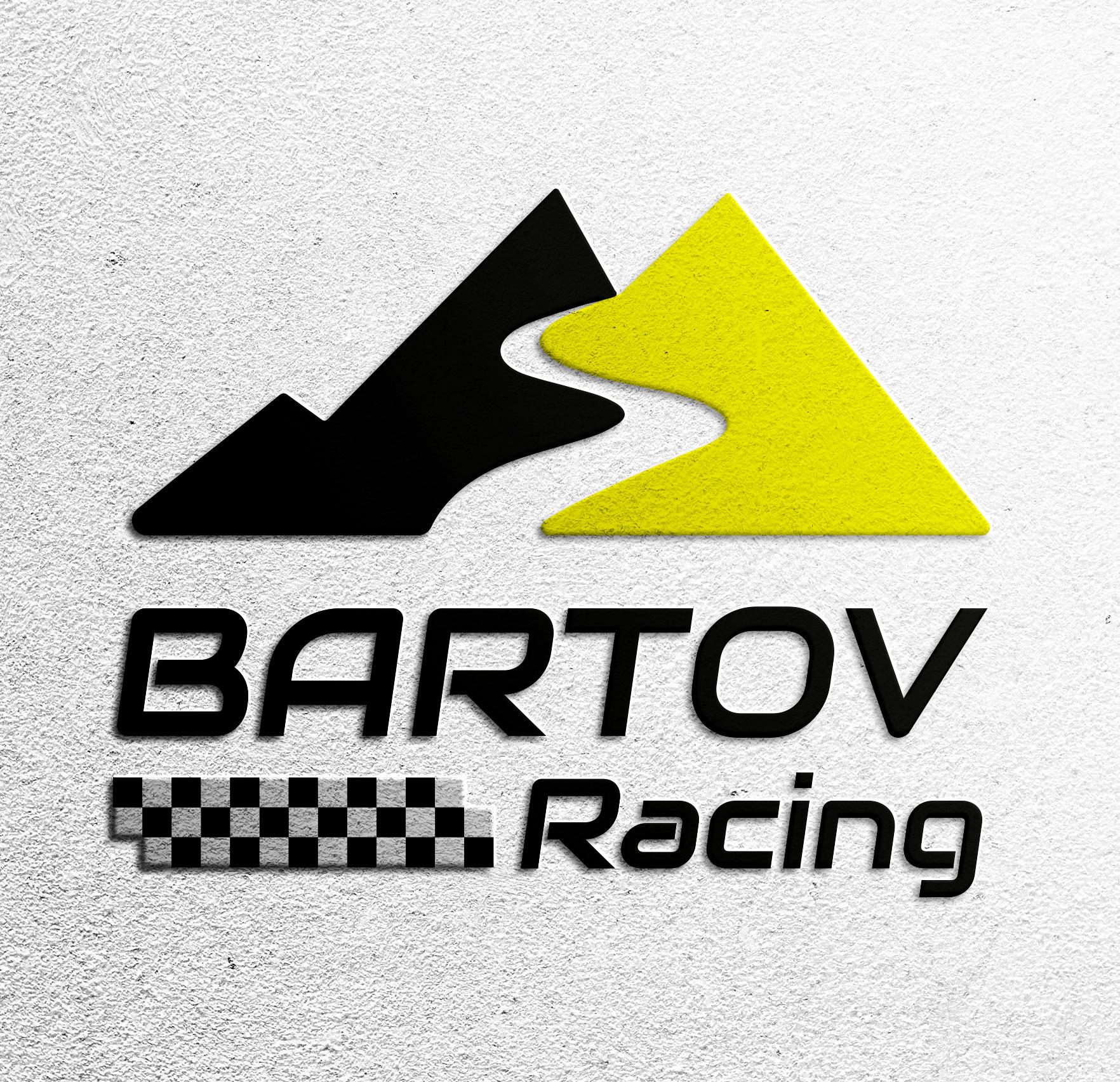 עיצוב לוגו רועי ברטוב לטובת מיתוג קבוצת רכבי מירוץ.