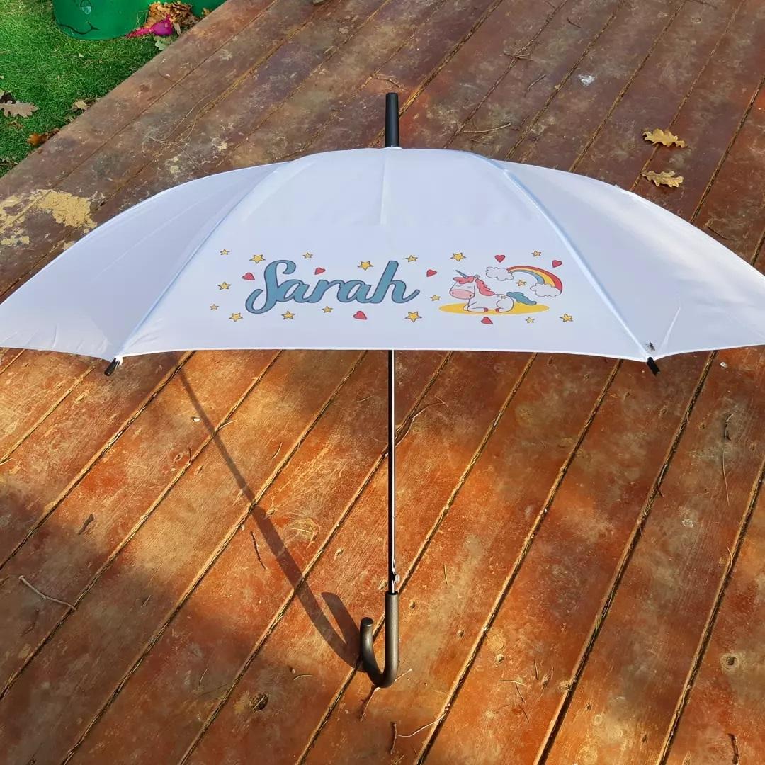 מטריה עם הדפסה צבעונית