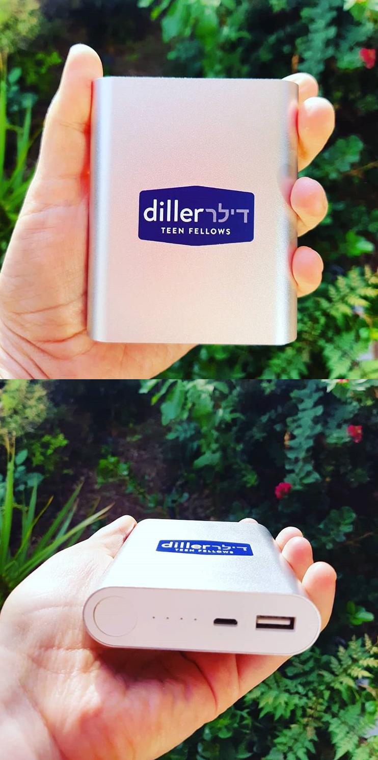 סוללת גיבוי ניידת 10,000mah עם הדפסה צבעונית עבור עמיתי דילר