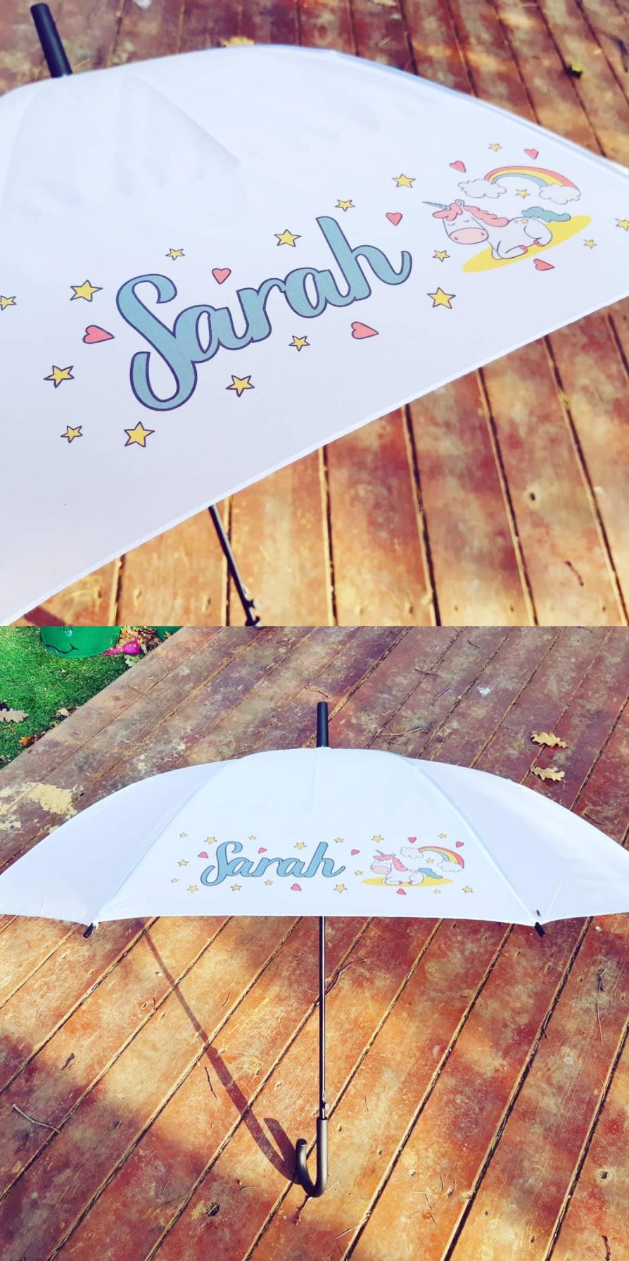 עיצוב אישי והדפסה על מטריות
