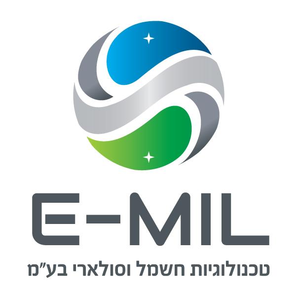 עיצוב לוגו EMIL טכנולוגיות חשמל וסולארי בע''מ