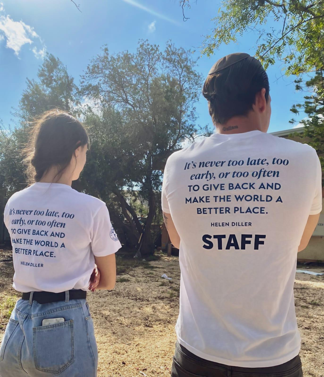 הדפסה על חולצות כותנה לבנות